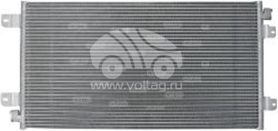 Радиатор кондиционера KRC0156