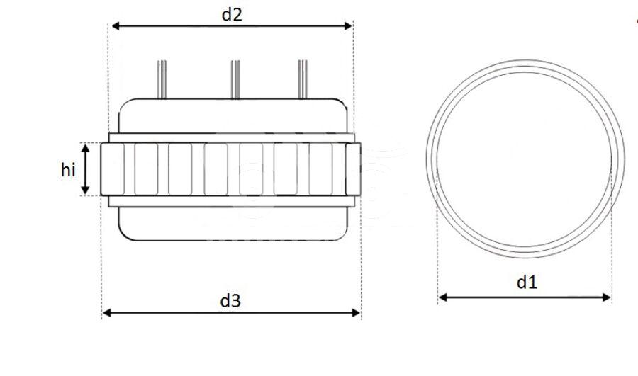 Статор генератора AFB0736