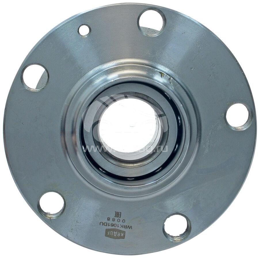 Ступица колеса с подшипником в сборе и монтажный комплектKRAUF WBK1061DU (8E0598611B)