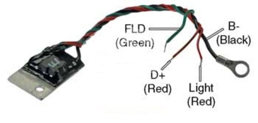 Чип реле-регулятора генератора AZH0100