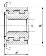 Коллектор моторчика печки KSS0008