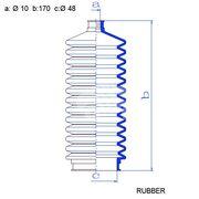 Пыльник рулевой рейки RDZ0629MG