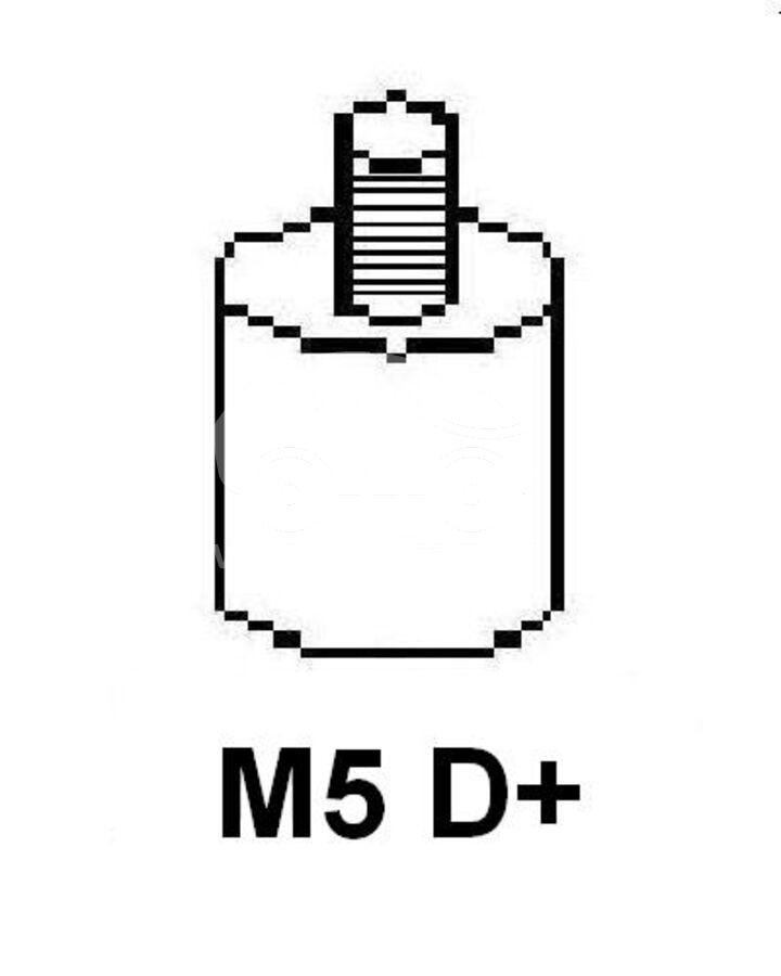 ГенераторDenso DAN599 (CA1998IR)