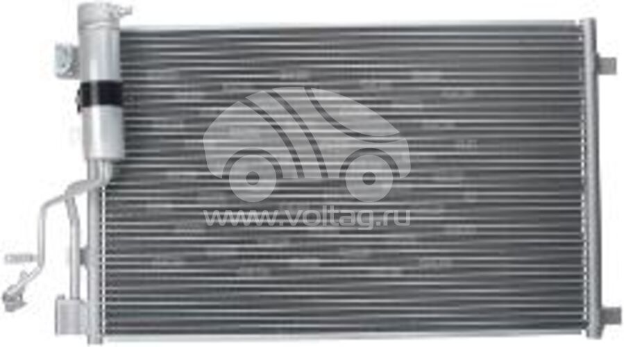 Радиатор кондиционера KRC0193