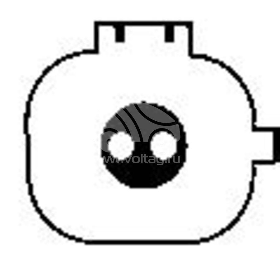 Компрессор кондиционера автомобиля KCF0375