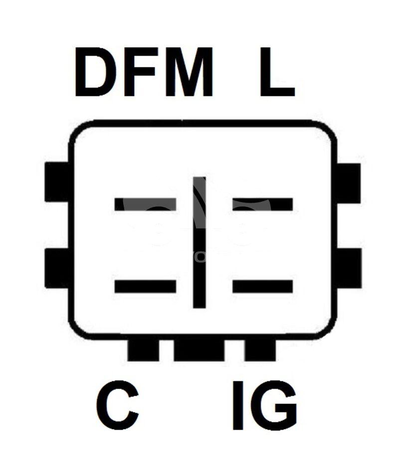 Регулятор генератора ARD2715