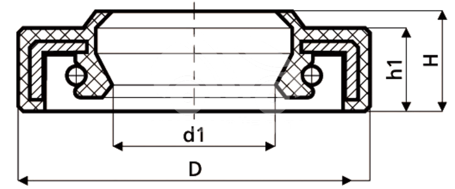 Сальник рулевой рейки HAZ1396