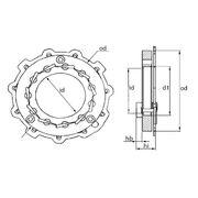 Геометрия турбокомпрессора MGT0004