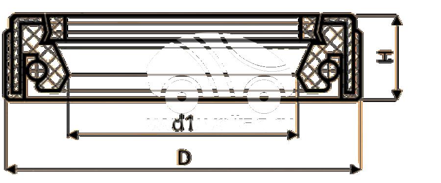 Сальник рулевой рейки HAZ1426