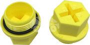 Пластиковая заглушка рулевой рейки (с резьбой) HDZ02807