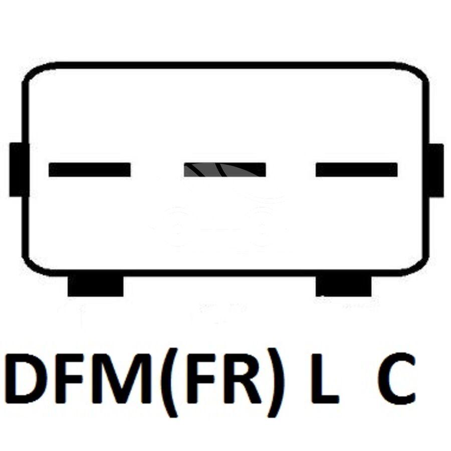 ГенераторKRAUF ALA9304DD (FG15S304)