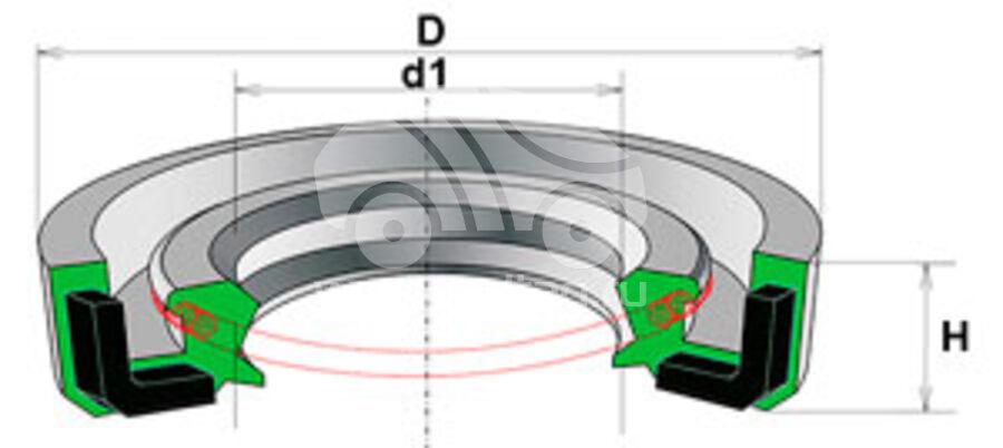 Сальник рулевой рейки HAZ1053R