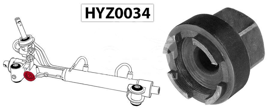 Ключ для монтажа/демонтажа и регулировки боковой гайк� HYZ0034