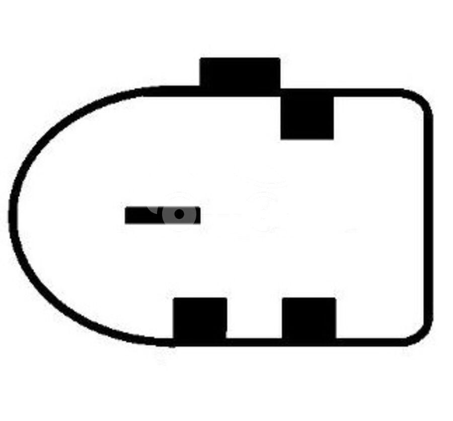 Крышка генератора пластик ABV1400