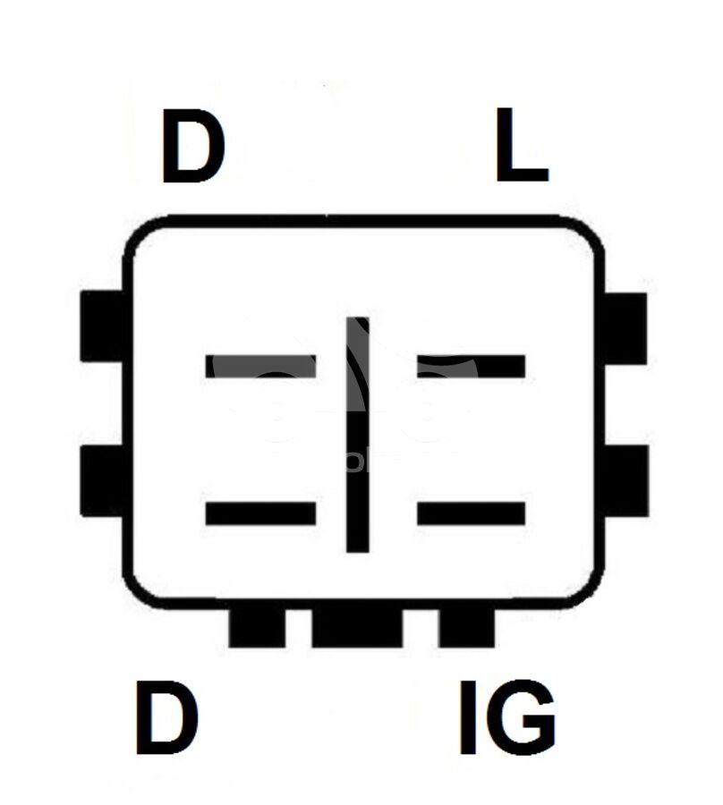 Регулятор генератора ARA1147