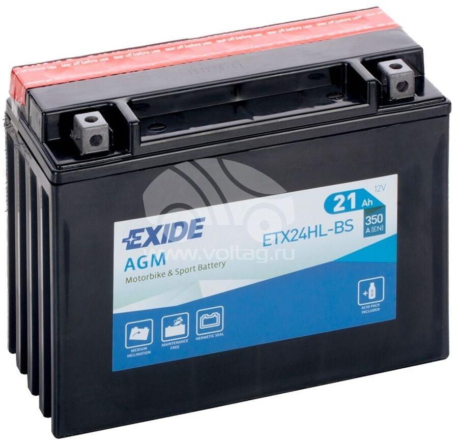 АккумуляторExide ETX24HLBS (ATM1223XE)