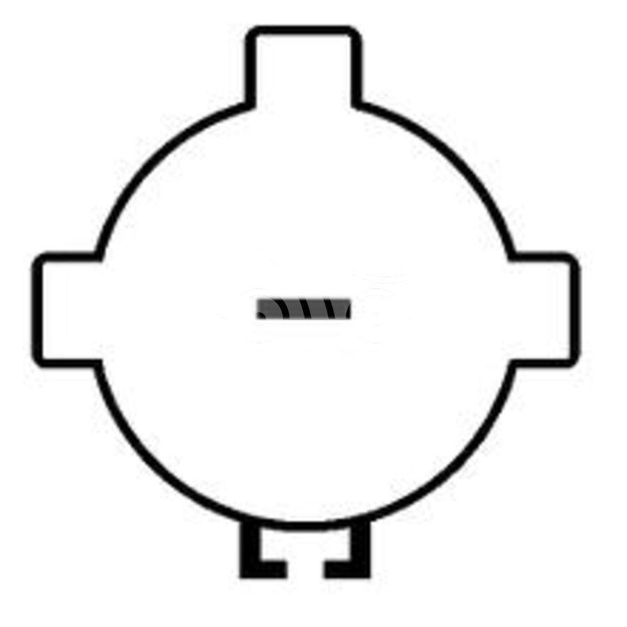 Компрессор кондиционера автомобиля KCF0270