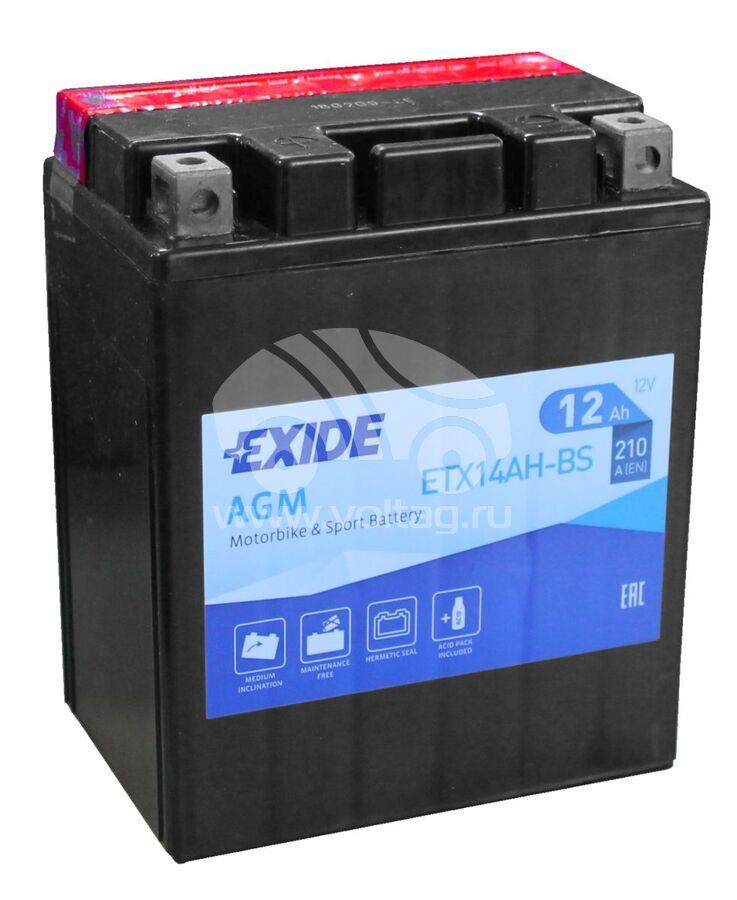 АккумуляторExide ETX14AHBS (ATM1213XE)