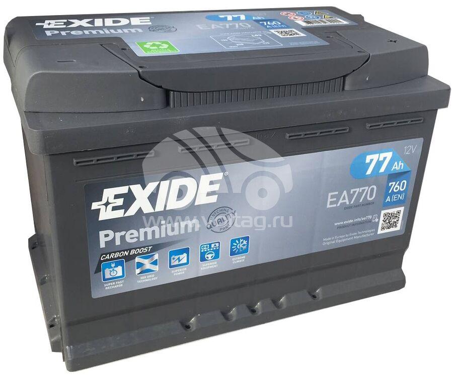 BatteryExide EA770 (278x175x190)