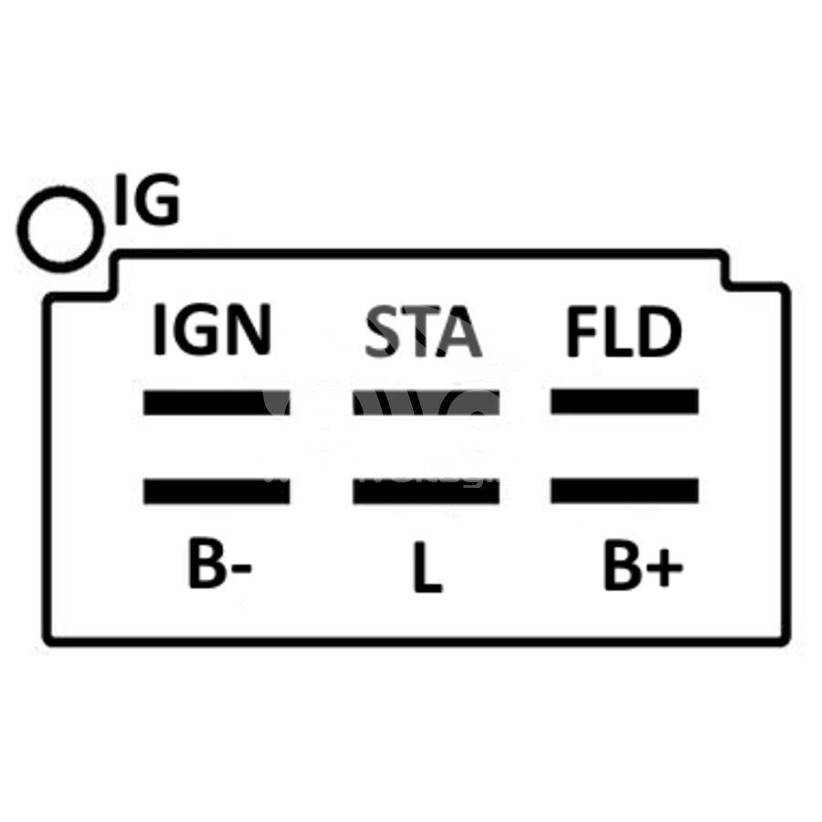 Регулятор генератора ARN6555