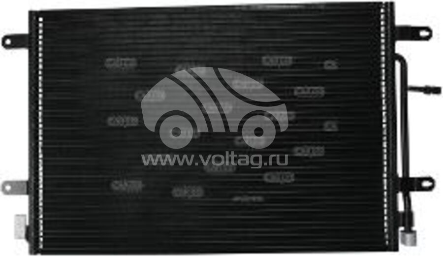 Радиатор кондиционера KRC0068