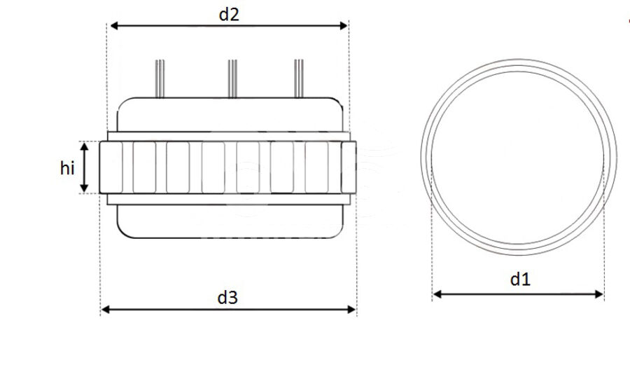 Статор генератора AFM2934